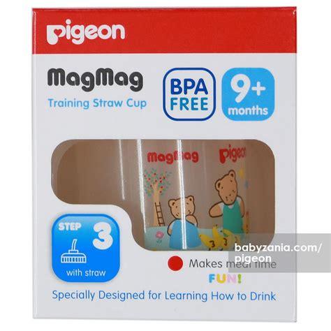 Pigeon Magmag Step 2 With Spout 6 Bulan Keatas jual murah pigeon step 3 mag mag bpa free straw