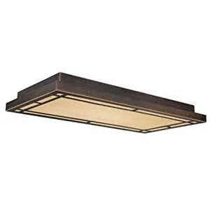 Fluorescent Kitchen Light Fixture Vaxcel Oak Park Flush Mount 24w In Bronze Ceiling Pendant Fixtures