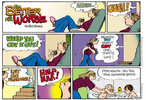 for better or worse comic dailystrips for sunday august 22 2010
