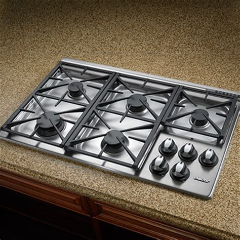 Dacor Cooktops - dacor 36 5 burner gas cooktop rgc365 nw