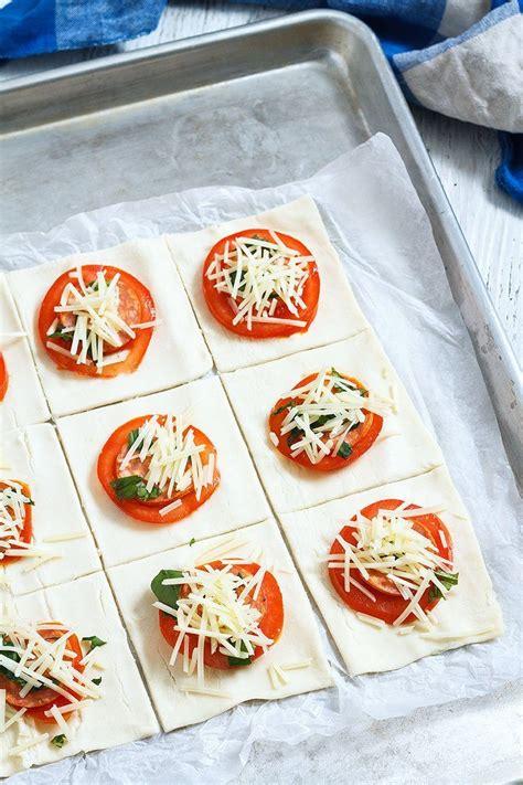 pepperoni basil tomato puffs eatwell