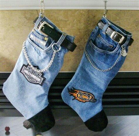 pattern for blue jean stocking blue jean christmas stockings craft ideas pinterest