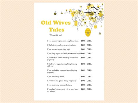 old wives tales determining the gender of your baby old wives tales gender reveal game boy or girl printable