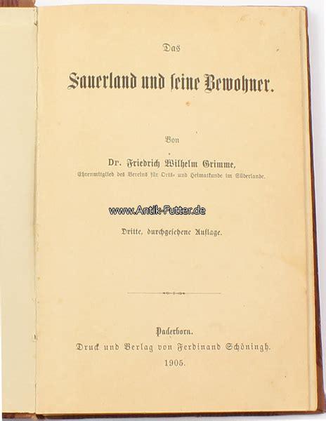 möbelhaus sauerland 1905 deutsches reich grimme das sauerland und seine