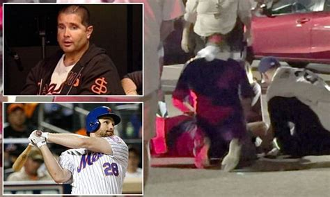new york mets fan critically injured after fight at dodger home daily mail online