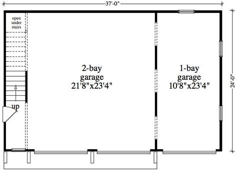 garage floor plan 1 bedroom 1 bath cabin lodge house plan alp 096z
