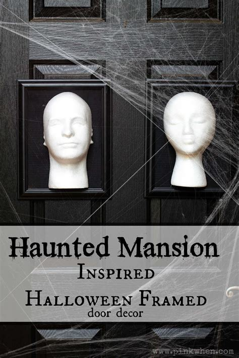 haunted mansion decor disney inspired pinterest haunted mansion inspired halloween frames pinkwhen