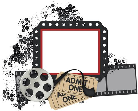 movie themes pictures scrapbook png cluster freebies like this site please