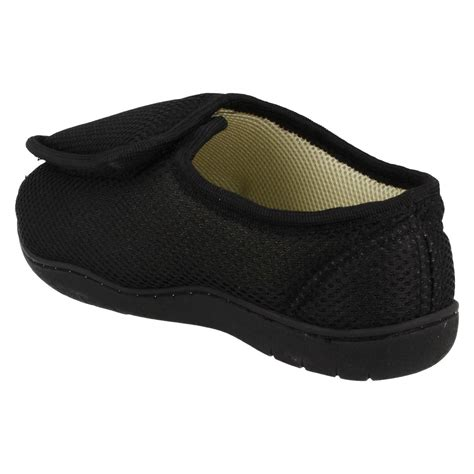 mens open toe slippers mens and spot on perforated open toe slippers ct