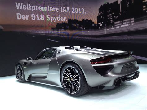 electric porsche supercar 2013 frankfurt porsche s all new supercar debuts