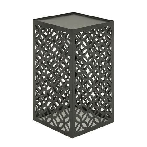 outdoor metal accent table shop appealing metal outdoor accent table free shipping