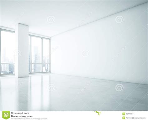 white wall with board and lights stock photo white interior with big blank wall stock photo image