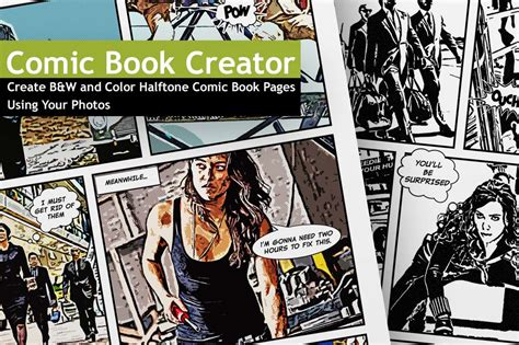 comic book layout maker last day the comic book creator includes 50 b w 50