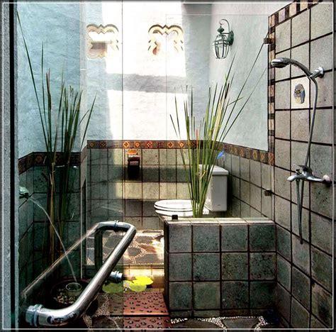 desain kamar mandi bathup minimalis 30 desain kamar mandi minimalis nuansa alam dengan batu