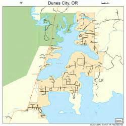 map of oregon city dunes city oregon map 4121150