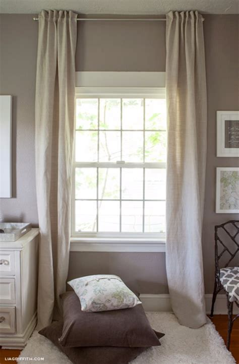 easy to make curtains crafty sewing projects for the home diy joy
