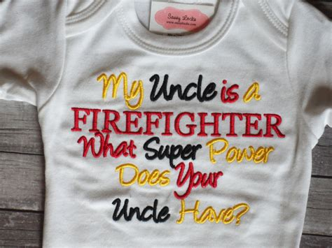 Firefighter baby boy clothes baby girl clothes bodysuit my