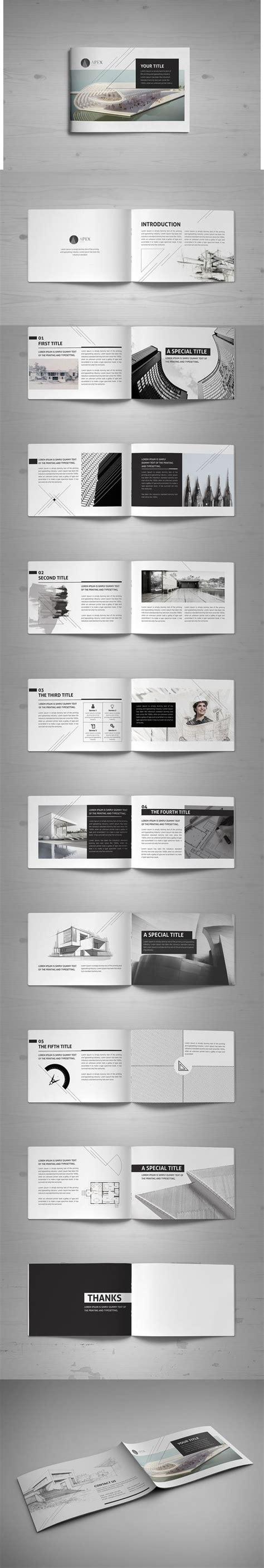 modern minimal business card indesign template minimal modern black white architecture brochure
