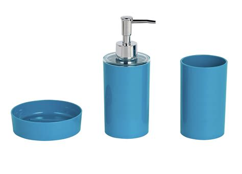 argos bathroom accesories colourmatch 3 piece bathroom accessory set teal 7036723