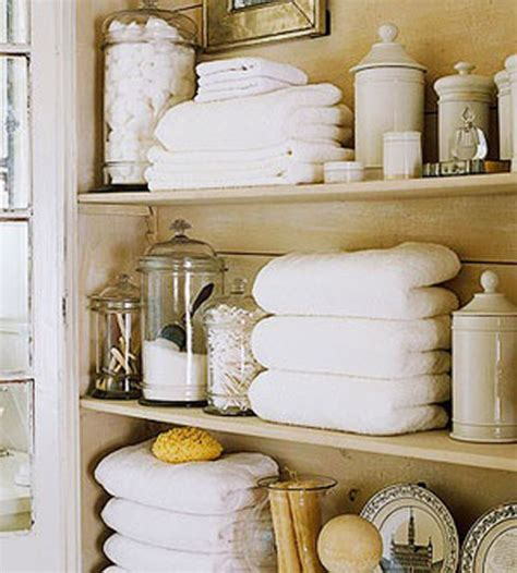 Bathroom Storage Ideas That Are Functional Fabulous Bathroom Shelves Decorating Ideas