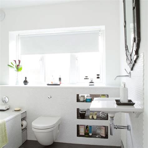 Bright Bathroom Lights Be Inspired By This Light And Bright Bathroom Makeover Housetohome Co Uk