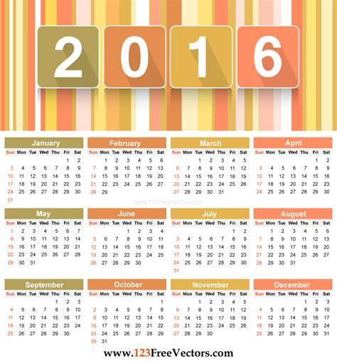 vector calendar template 123freevectors deviantart