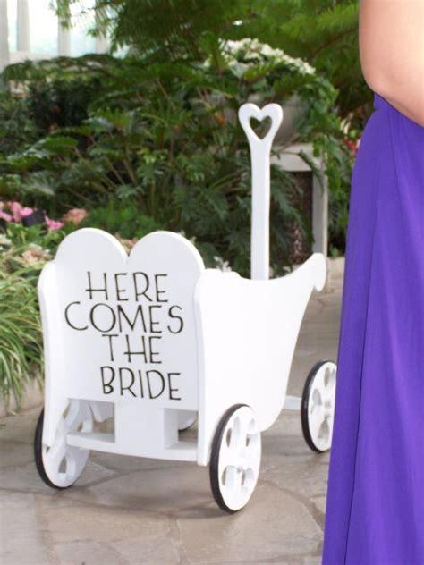 Small child in Wedding Wagon   Weddingbee