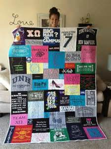 Running Shirt Quilt by Make All Your Running Race Shirts Into Quilt Running