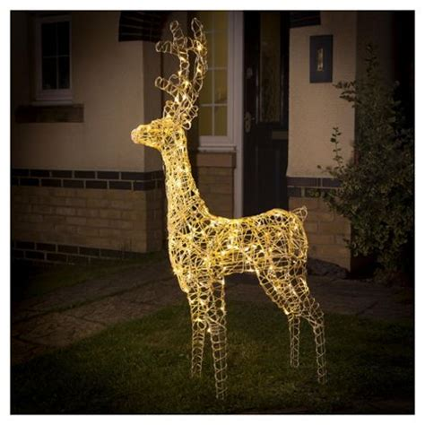 buy light up led christmas reindeer warm white from our