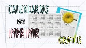 Tipos De Calendarios Calendarios Para Imprimir Gratis Calendarios