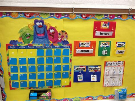Calendar Bulletin Board Ideas