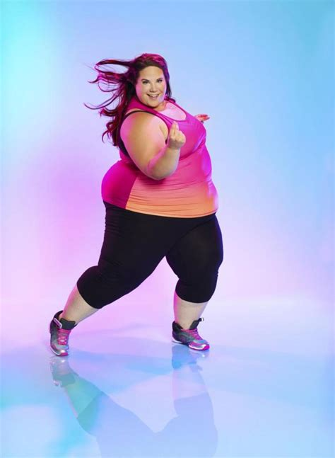 whitney way thore dancer tlc star generally awesome can you be fat and fit these plus size athletes say yes