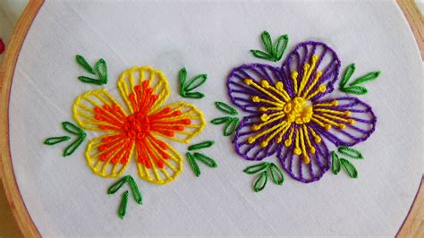 Handmade Embroidery Designs - embroidery blanket stitch button stitch