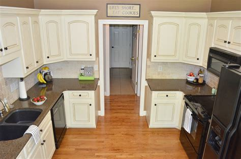 Paint The Kitchen Cabinets Painted Kitchen Cabinets At Home With The Barkers