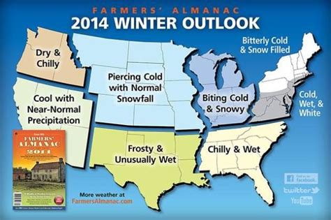 winter weather predictions 2014 2015 from the old farmer s 2014 winter weather forecast by the farmers almanac