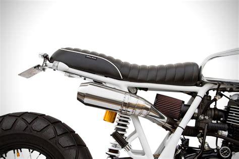 Gear Sinnob Yamaha Byson Gold Comfort chrome gold yamaha sr400 by deus ex machina hiconsumption