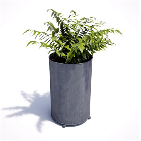 Circular Planter by Garden Requisites Steel Planters Troughs