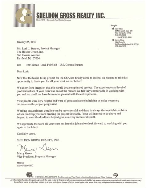 Contract Closeout Letter Letter Of Recommendation For Contractor Best Template Collection