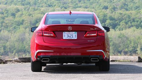 Tlx Exhaust Tips by 2018 Acura Tlx Drive The Outlier Choice Gets Better