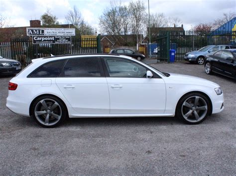 Audi A4 Avant S Line Schwarz by Audi A4 Avant 2 0 Tdi S Line Black Edition 177ps For Sale