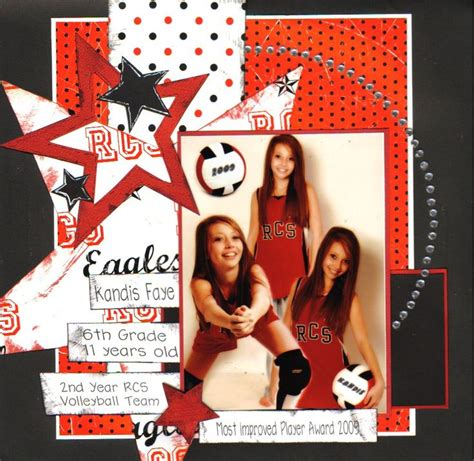 scrapbook layout ideas for volleyball 232 best scrapbooking images on pinterest scrapbook