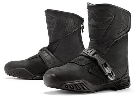 icon boots icon raiden treadwell boots revzilla