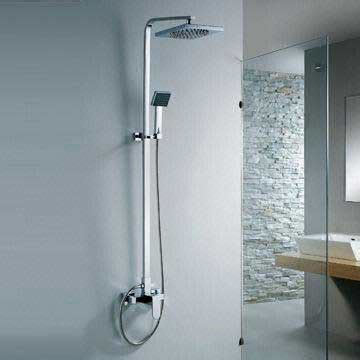 Kran Dan Shower Mandi Dekorasi Kamar Mandi Bathtub Shower Dan Wastafel