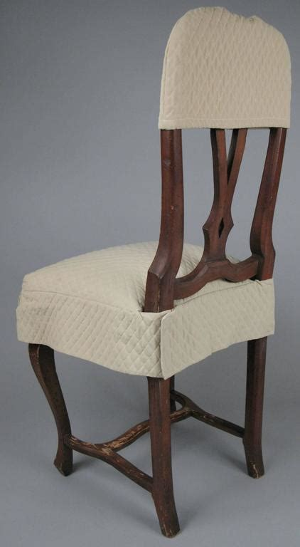 Dining Room Chairs Covers Sale Set Of Eight Swedish Style Dining Chairs With Quilted Covers For Sale At 1stdibs