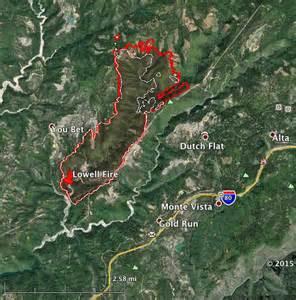 california wildfire evacuation map california map