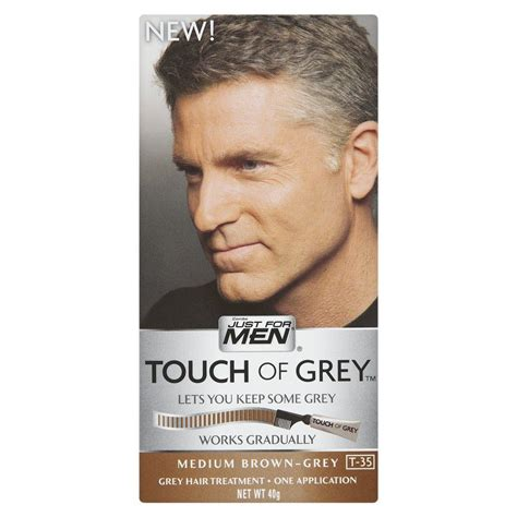 mens hair color products just for touch of grey hair colour dye