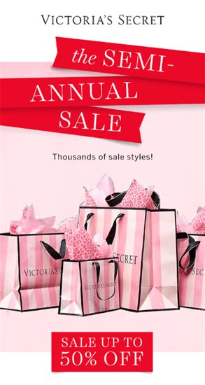 Sale Alert Victorias Secret Semi Annual Sale by S Secret The Semi Annual Sale Fashion