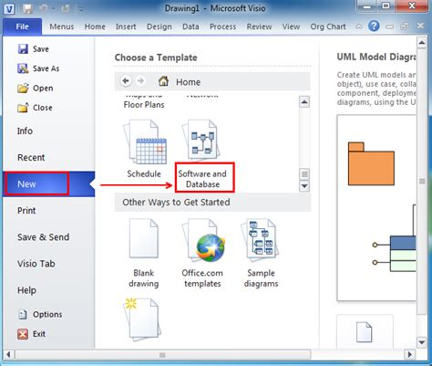 where is engineer in microsoft visio 2010 2013