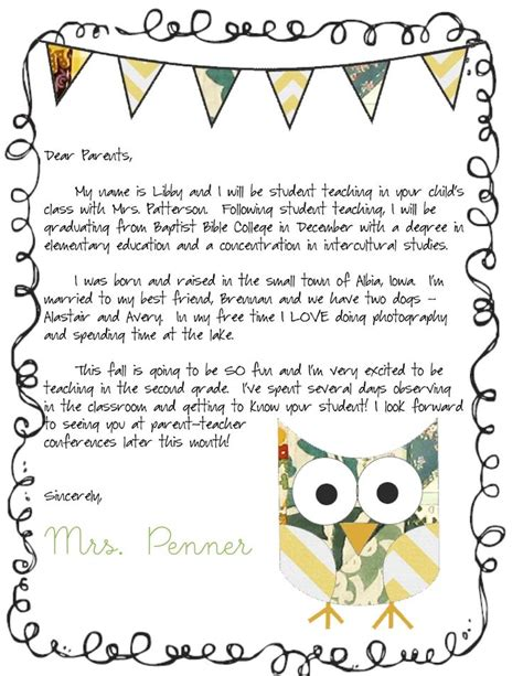 parent letter template 17 best ideas about parent letters on letters