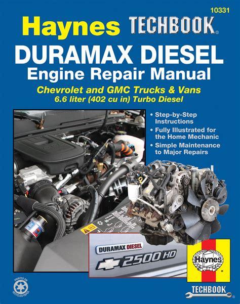 small engine repair manuals free download 2001 gmc yukon xl 2500 windshield wipe control duramax diesel engine for chevrolet gmc trucks vans 01 12 haynes techbook haynes manuals